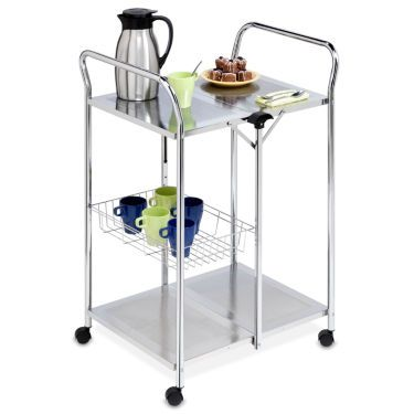 Honey Can Do Deluxe Folding Utility Cart Kitchen Simple Storage