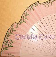 Abanicos para bodas y eventos Claudia Cano. http://cuadromovilesrefrescantes.blogspot.com.es/
