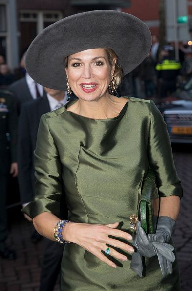 Royal Family Around the World: Queen Maxima Of The Nederlands Opens 'A Royal Paradise' Exhibition In Dordrecht Museum on February 18, 2017