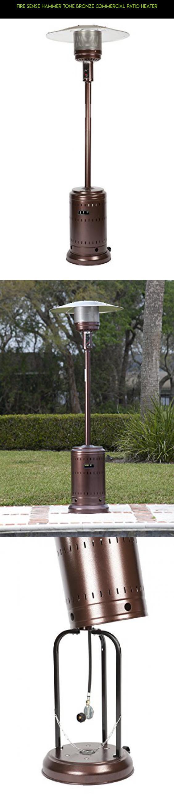 Fire Sense Hammer Tone Bronze Commercial Patio Heater #parts #kit #plans  #drone