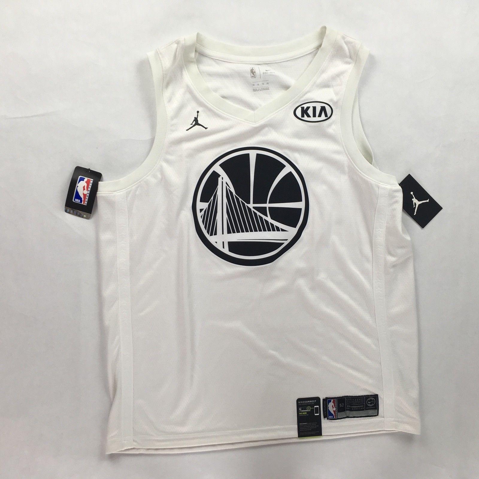 0a1b73bf Nike 2018 NBA All Star Stephen Curry Warriors Swingman White Jersey Mens  XL-XXL - Curry Jerseys - Trending and latest Curry Jerseys #curryjerseys ...