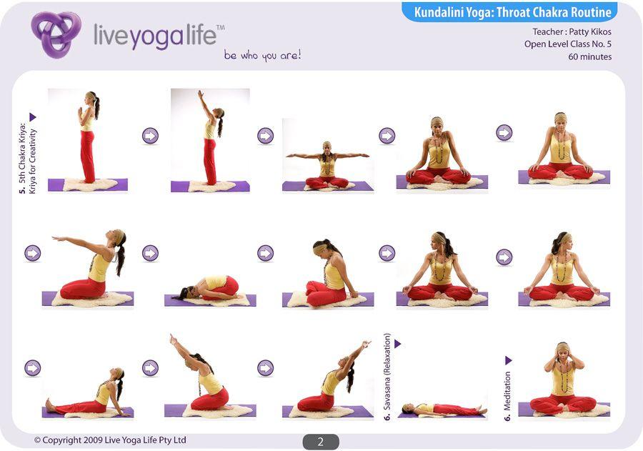 Kundalini Yoga Chakra Program - THROAT CHAKRA ROUTINE