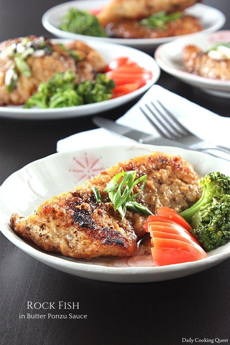 Pan Fried Rock Fish Recipe