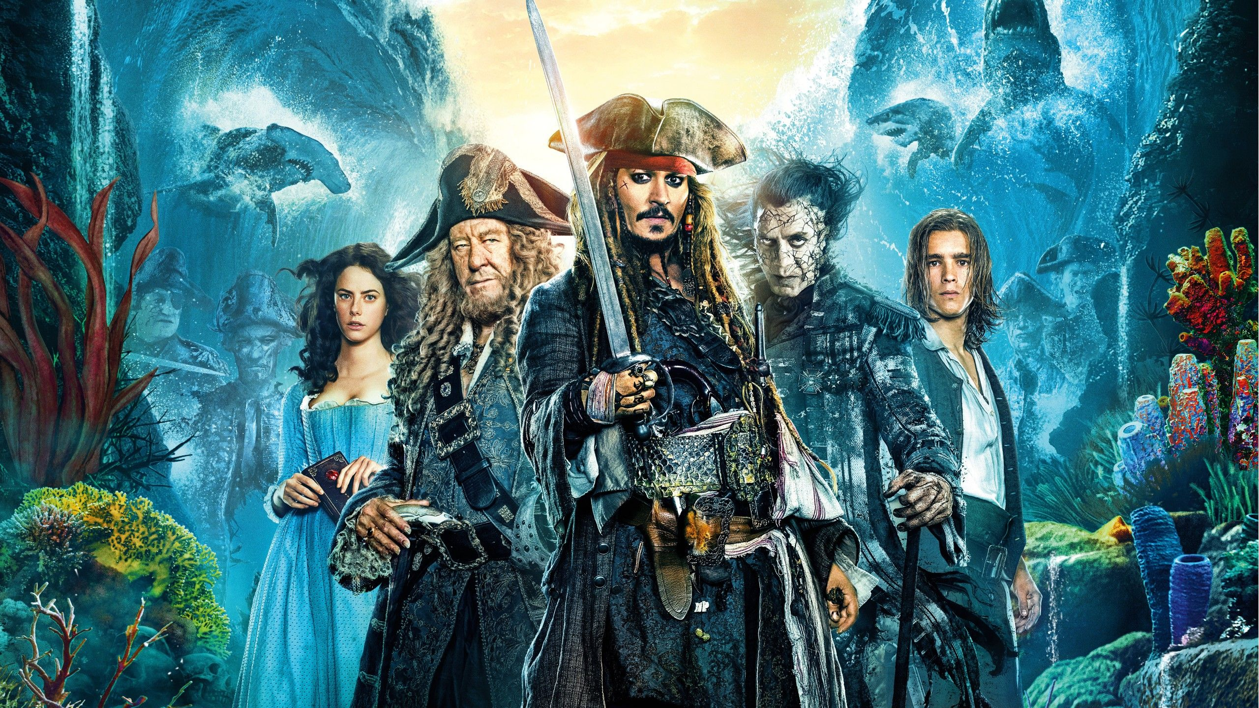 Pirates Of The Caribbean Dead Men Tell No Tales Will Turner Pirates Of The Caribbean Dead Men Tell No Tales 2560x1440 Pirates Of The Caribbean Dead Man Pirates