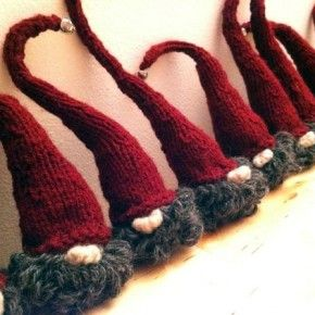 These are called; Danish Nisse Men, but Nisse live in Norge too! And Sweden calls them Tomte, right?