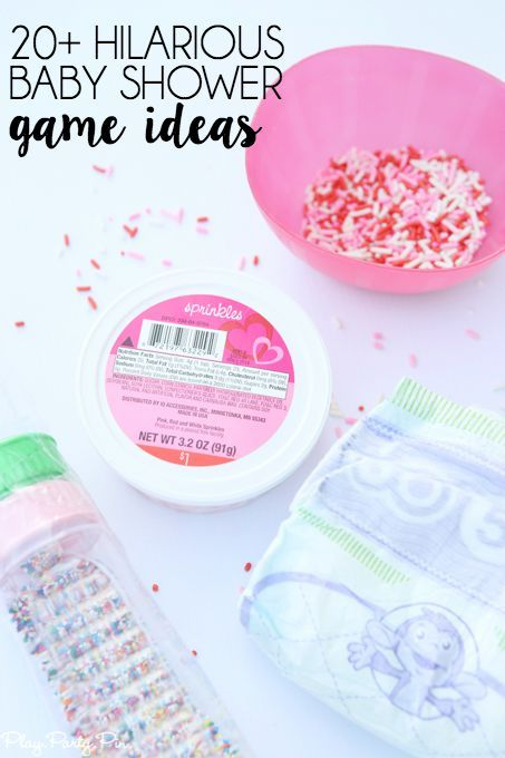 Affordable Baby Shower Games Part - 19: 20 Hilarious Baby Shower Games That Are Also Perfect For A 2nd Time Mom Baby  Sprinkle