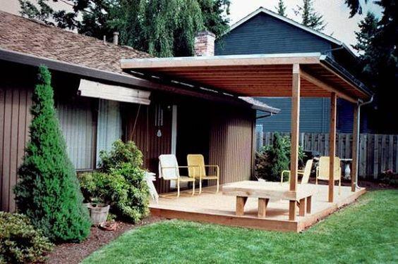 attractive roof over patio ideas build