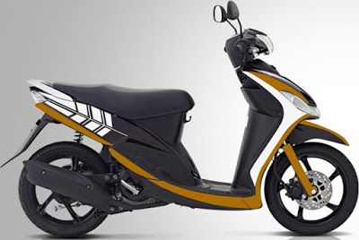 Cara Modifikasi Motor Mio Sporty Simple 2009 2011 Motor