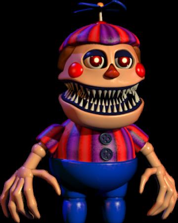 Nightmare Balloon Boy Five Nights At Freddy S Wiki Fandom Powered By Wikia Five Nights At Freddy S Fnaf Freddy S