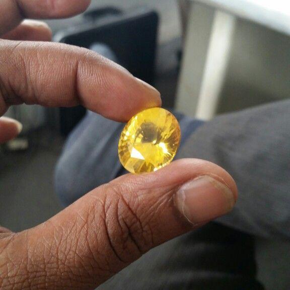 32ct Natural Yellow, Sri Lankan