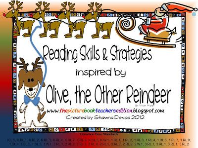 The Picture Book Teacher's Edition: Olive, the Other Reindeer by Vivian Walsh