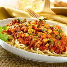 Spaghetti Bolognese Recette Delicieux Riz Pates