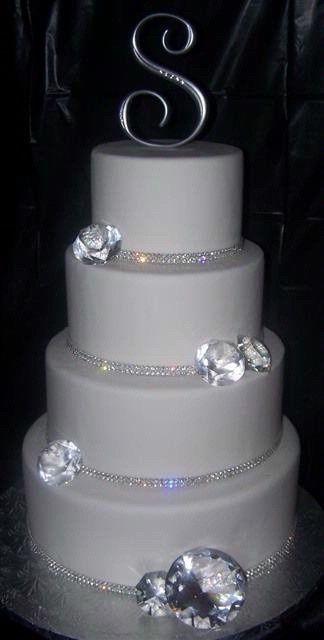 Wedding Fever Bling Cakesbling Cakesdiamond