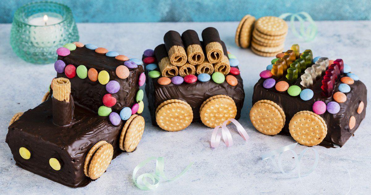 Eisenbahn Kuchen Rezept Kuchen Kindergeburtstag Backrezepte Und Schokoladenkuchen Rezept