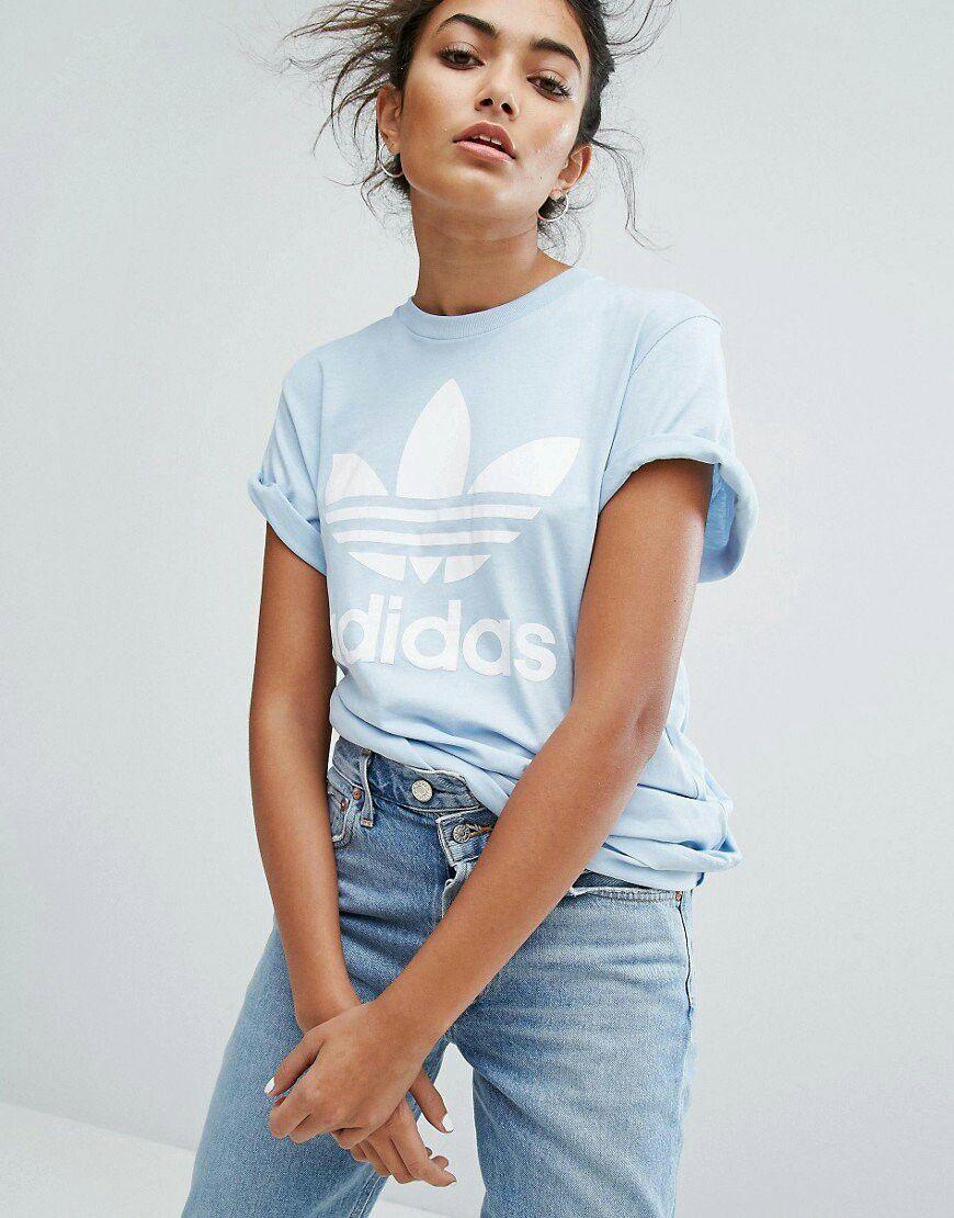 Clothing Adidas Baby Blue Tshirt