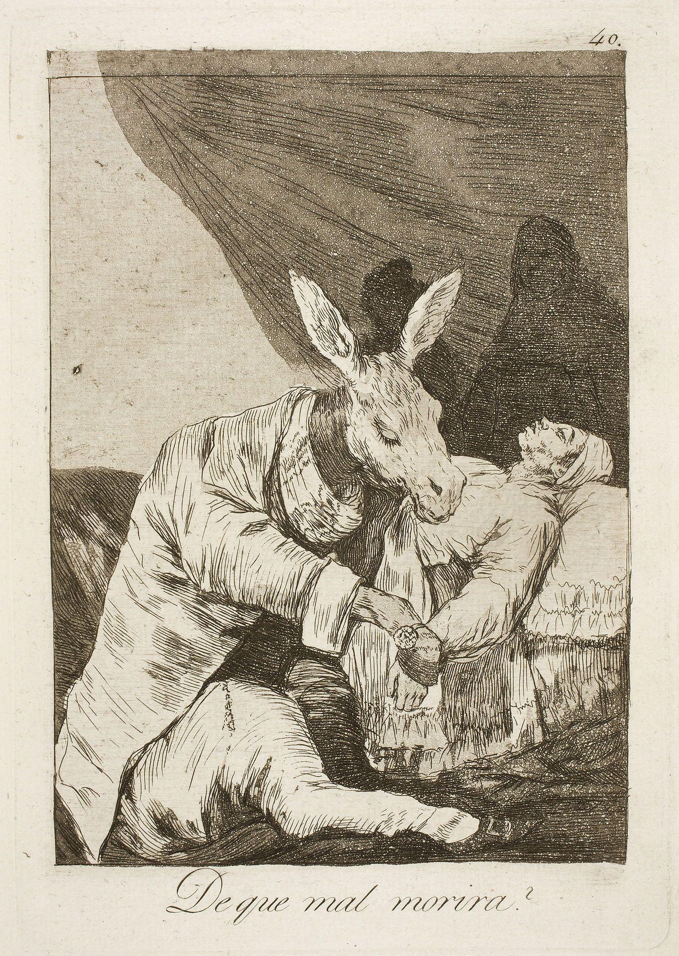 Los caprichos - Wikipedia | Francisco goya, Art painting, Art