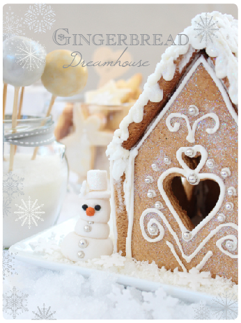 The Kate Tin: How to make a gingerbread house