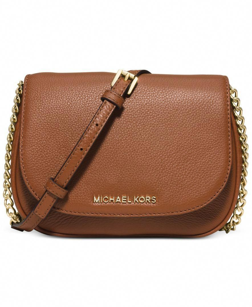 269640a65e9e MICHAEL Michael Kors Bedford Small Crossbody Saddle Bag - Designer Handbags  - Handbags Accessories - Macys