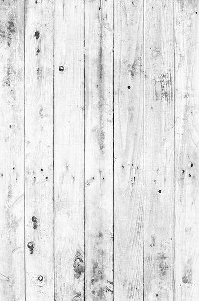 Old White Painted Wood For Background Hintergrundbilder