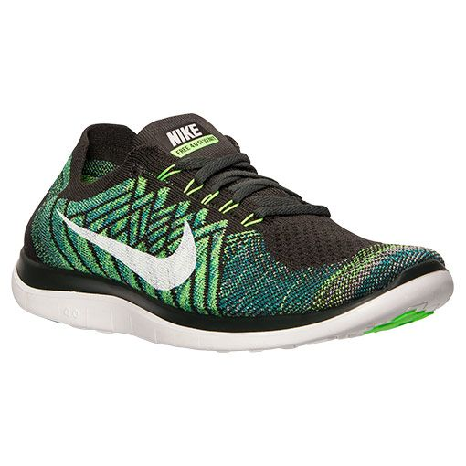 de7a2d146616 Men s Nike Free 4.0 Flyknit Running Shoes - 717075 302