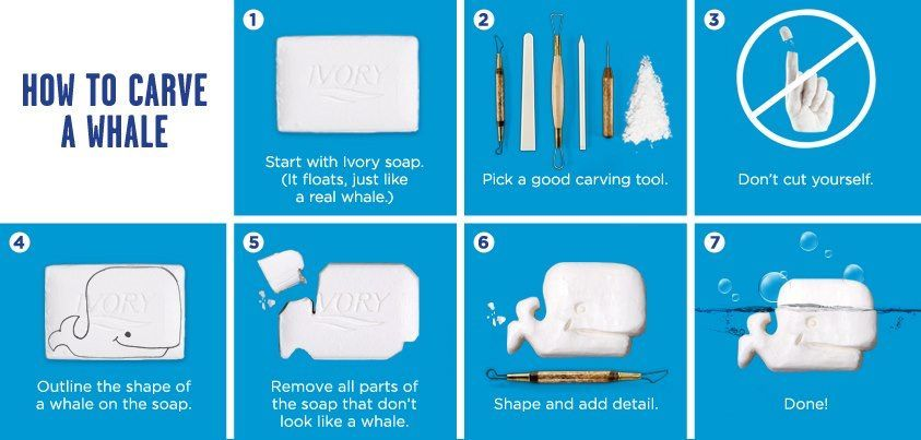 Ivory soap carving instructions google search