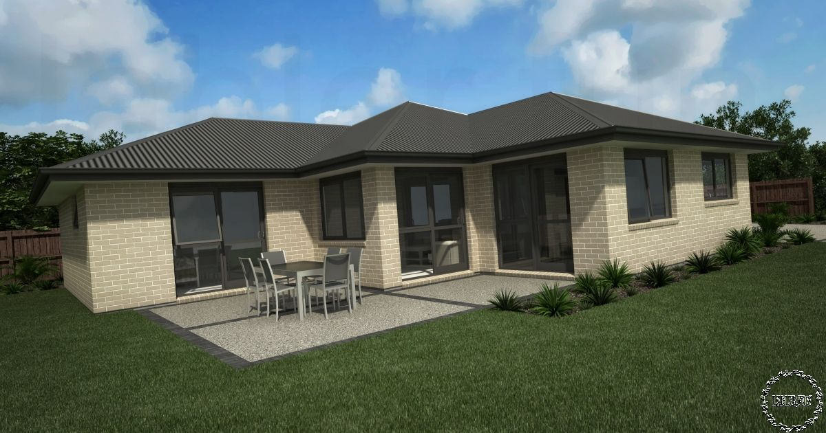 Home Design Plan 13x15m With 3 Bedrooms House design