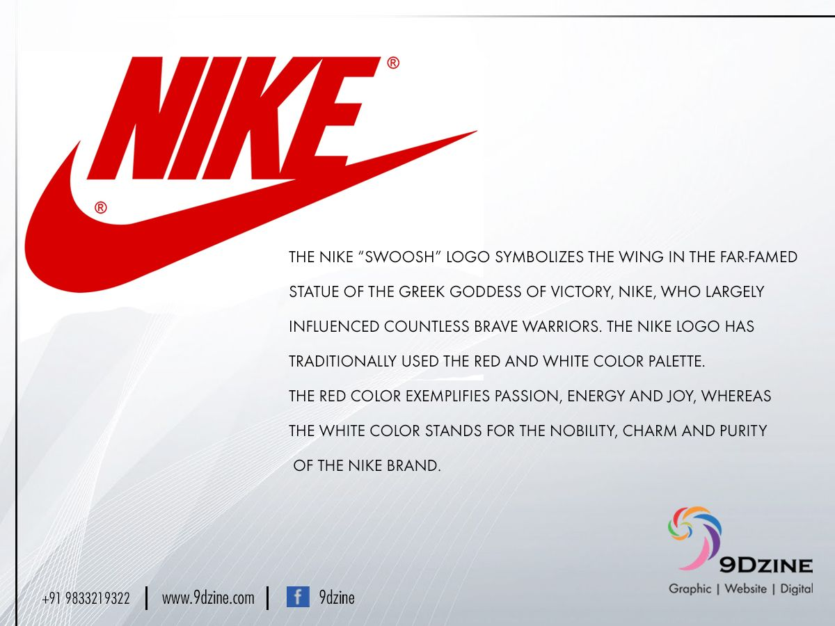 Did you notice the hidden meaning in the NIKE Logo? For