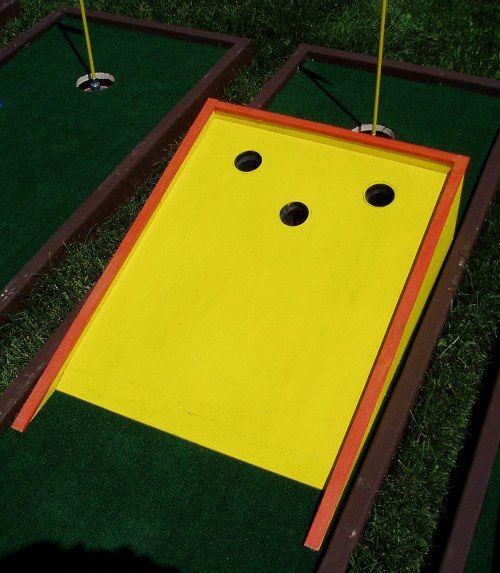 Mini Golf Obstacles Mini Golf Mole Holes Mini Golf Course