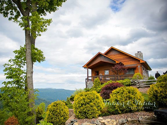 The Exterior   Blowing Rock And Boone NC Log Cabin Rentals