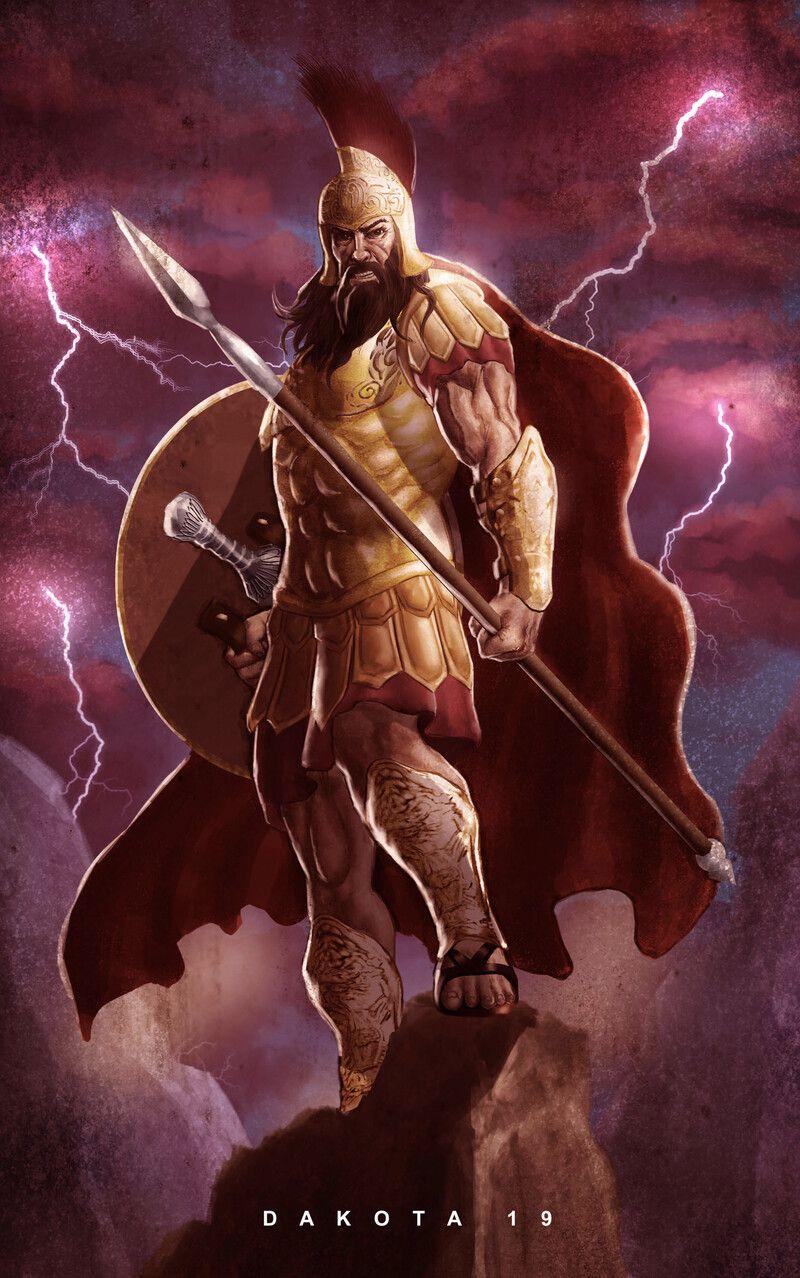 Artstation Mars God Of War Daniel Acosta Greek Mythology Art Aphrodite Art Mythology Art