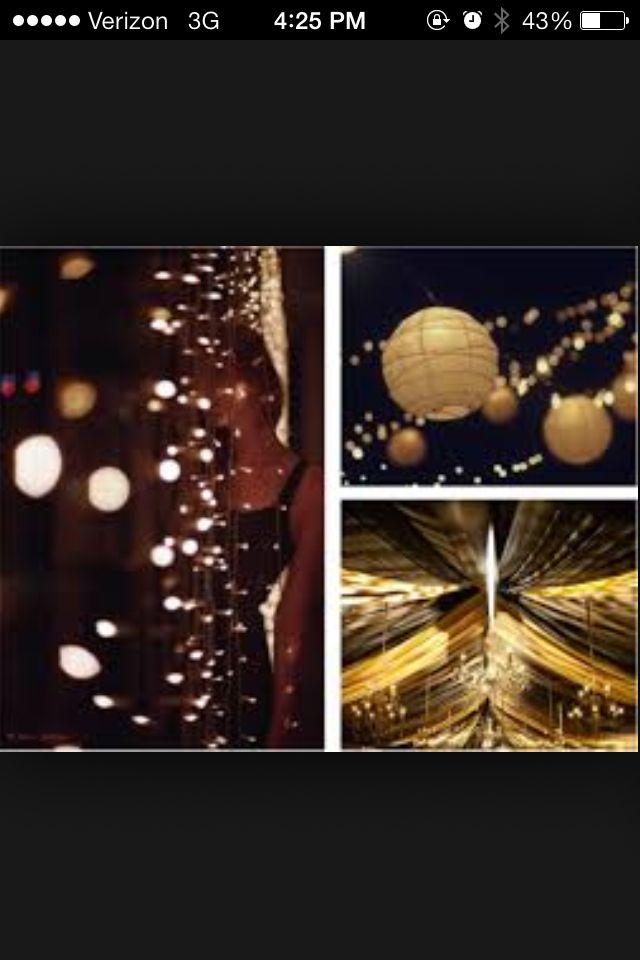 City Lights Prom Theme