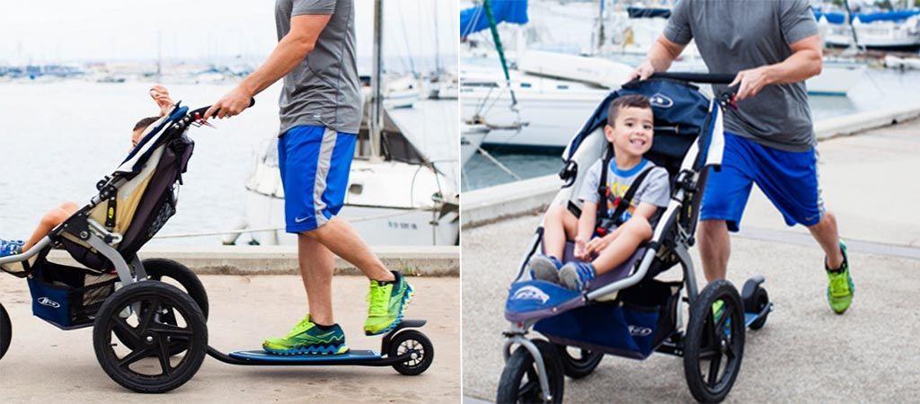 43++ Bobtail stroller skateboard attachment info