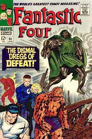 Fantastic four comic books for sale
