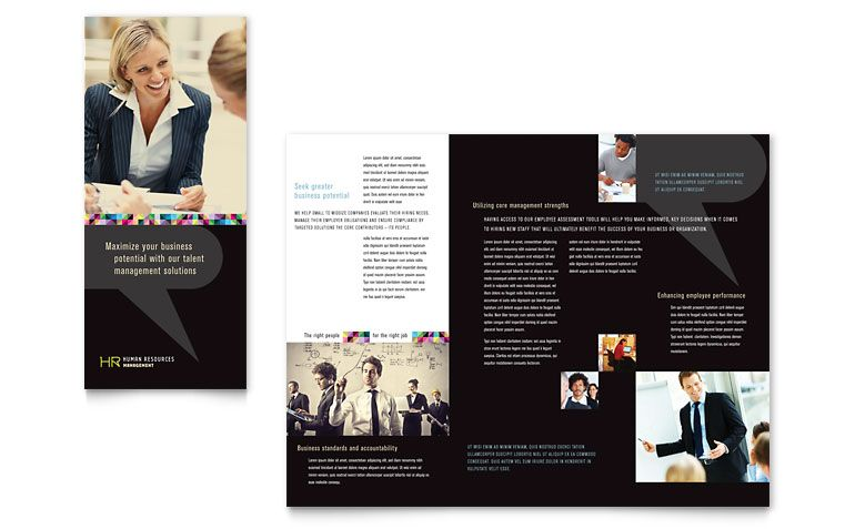 How to Create a Trifold Brochure in InDesign Casey Connect Tri - microsoft word tri fold brochure template