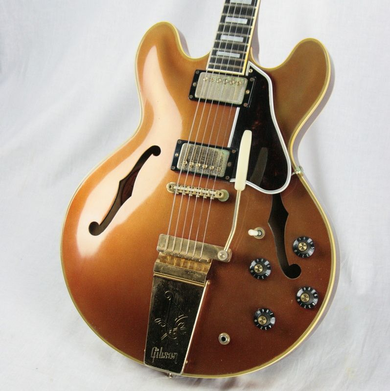 RARE 1968 Gibson ES-355 TD MONO Custom Color SPARKLING BURGUNDY 335 345 #vintageguitars