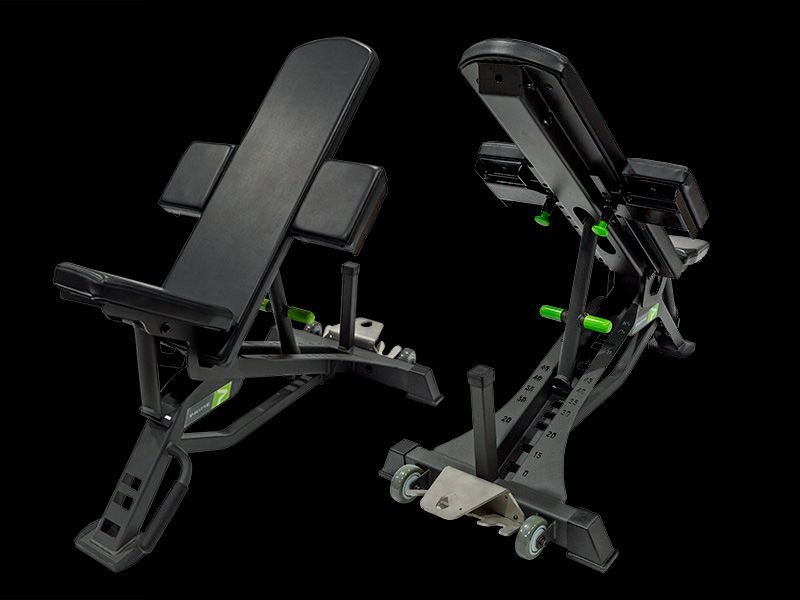 The Prime Adjustable Bench Is One Of The Best Adjustable Benches We Ve Ever Used It Is Pricey But Not More Weight Benches No Equipment Workout Home Made Gym