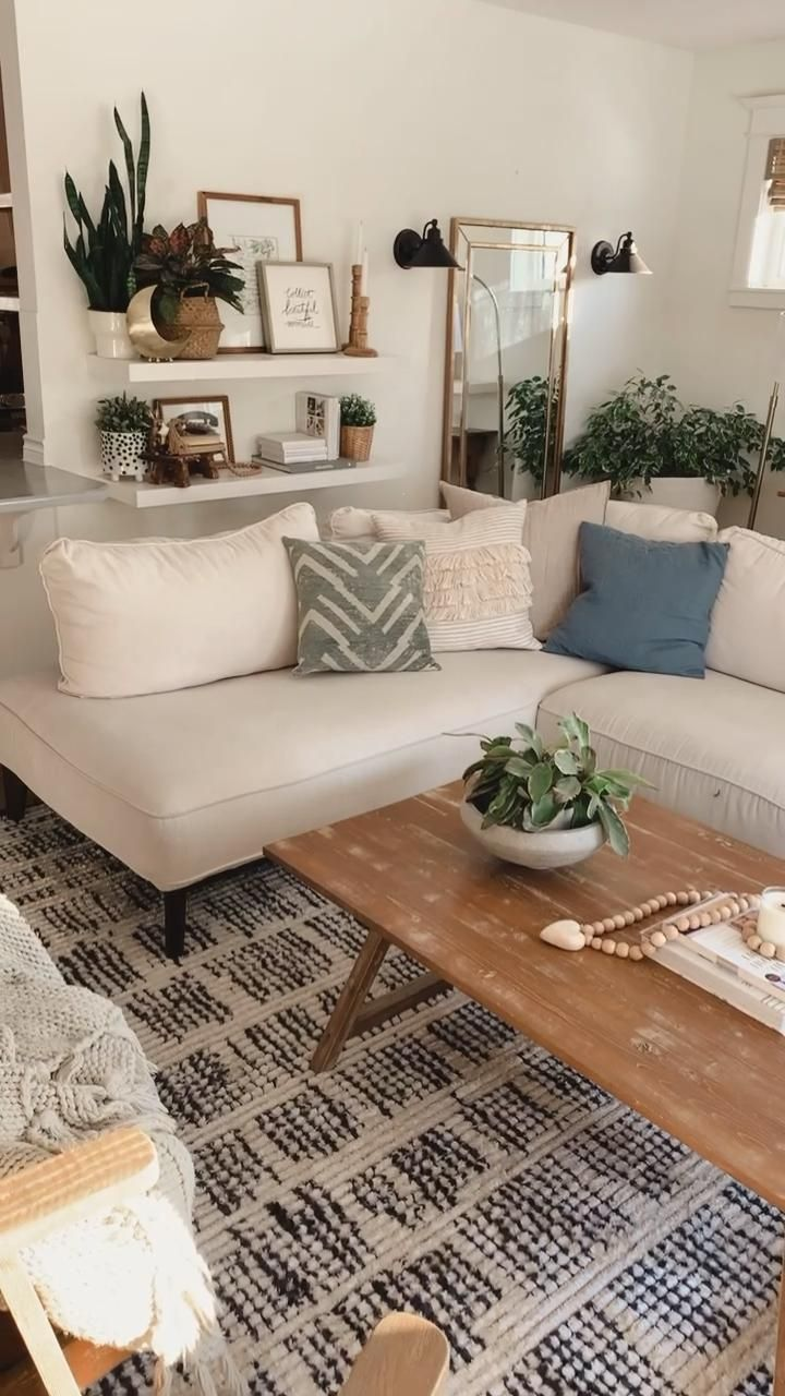 Photo of Modern Boho farmhouse living room inspiration