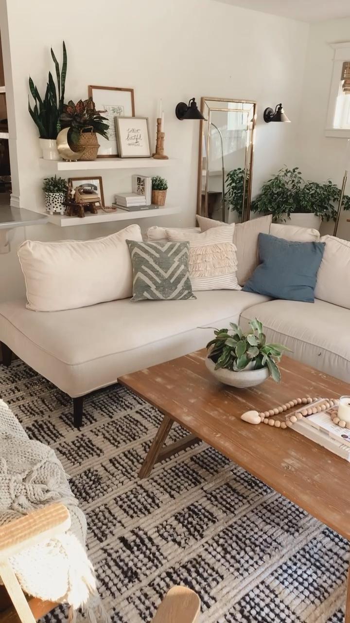 Boho Modern Farmhouse Living Room