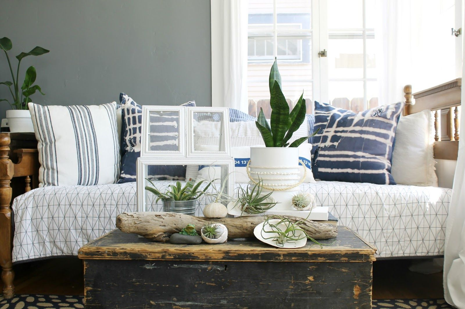 Summer Home Tour 2016 With Birch Lane And Country Living Summer Living Room Living Room Designs Coastal Decorating Living Room #redding #gray #living #room #collection