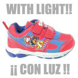 Zapatillas Deportivas Con Luz De Patrulla Canina Paw Patrol Zapatillas Deportivas Zapatillas Calzas