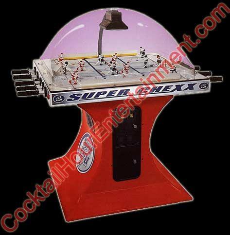 Super Chexx Bubble Hockey Dome Hockey Rod Hockey Arcade Game 2 4 Player  Http: