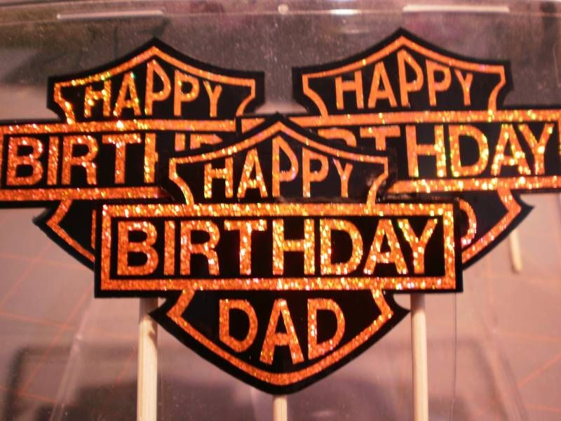 1000 images about Harley Party Supplies – Harley Birthday Cards