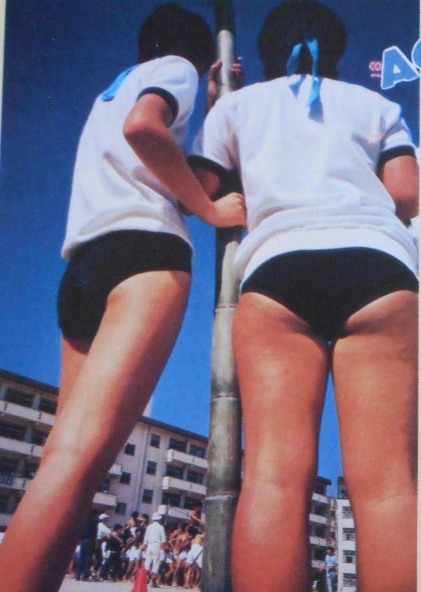 ブルマー アンスコ 投稿写真 1985年1月 No.3 セクシーアクション系 チア ブルマ パンチラ