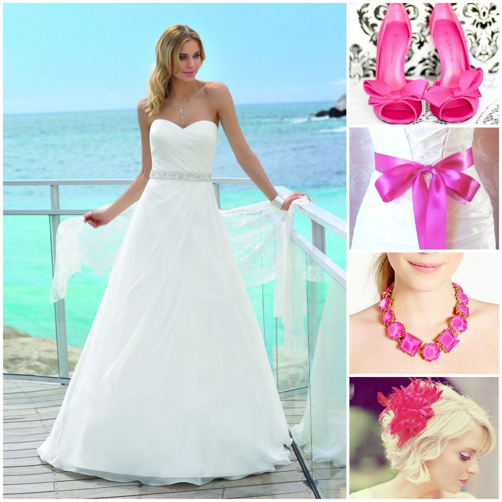 Combine hot pink accessories with this Affinity dress. www.affinity ...