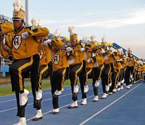 Alabama State Hornet Stadium Alabama State University Marching