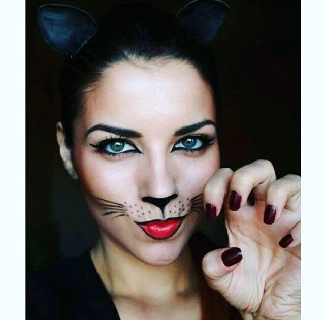 Jfkjcjfbdnsnkw hallowen Pinterest Halloween costumes, Costumes - cute makeup ideas for halloween