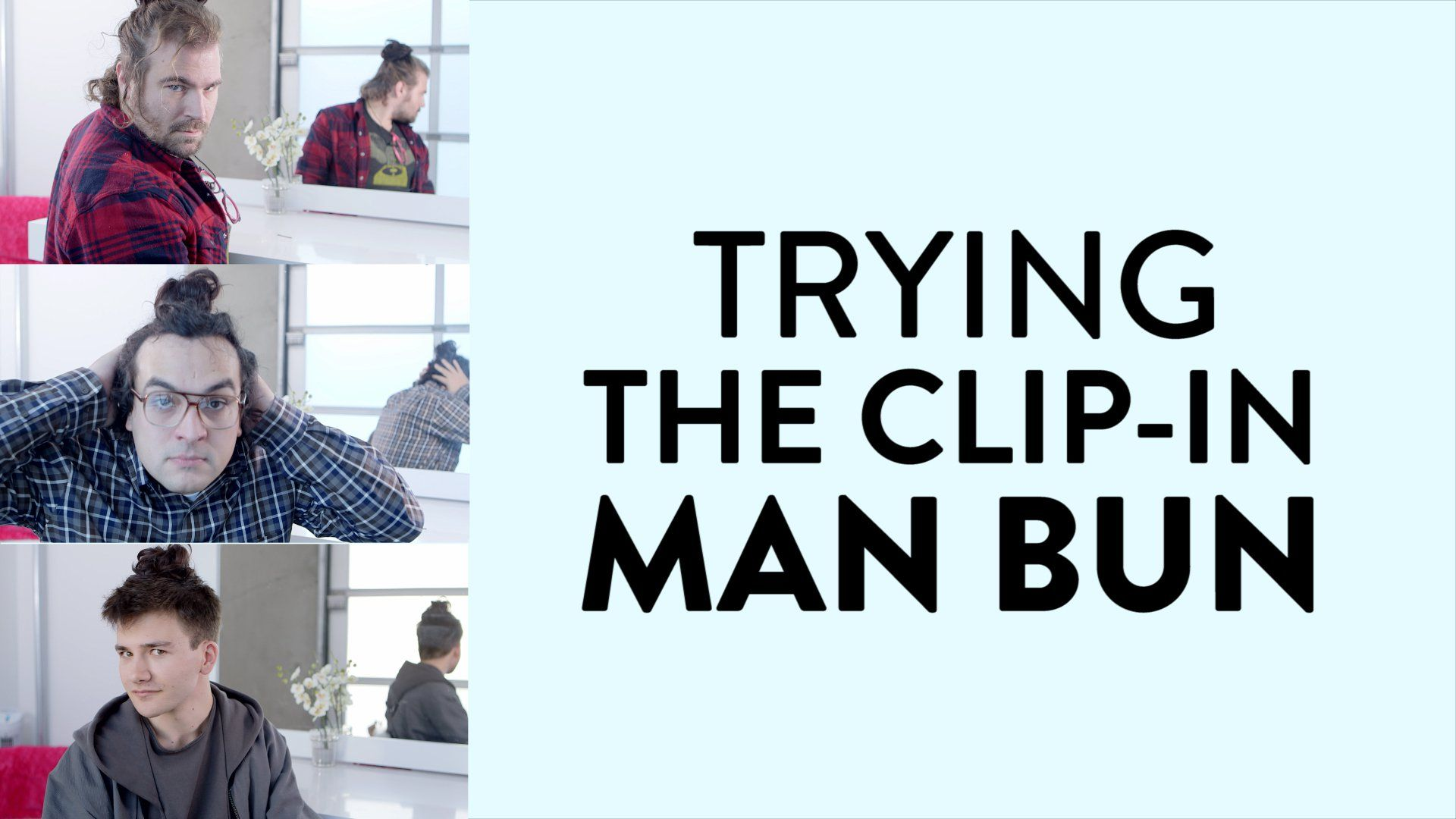 Funny Quotes About Haircuts: These Men Got Clip-In Man Buns, And The Results Are