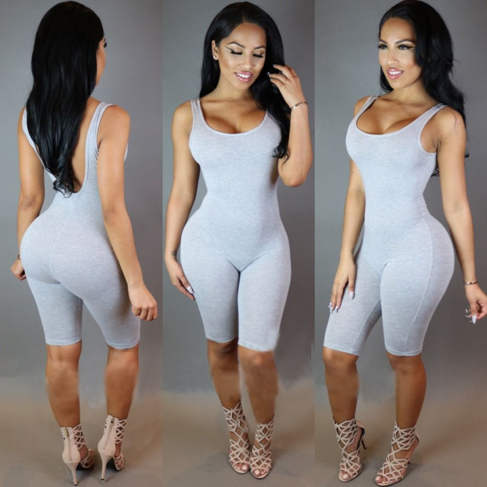 b7a8bfa46271 Cheap bodysuit male, Buy Quality bodysuits women directly from China bodysuit  lingerie Suppliers: Bodycon Bodysuit Elegant Jumpsuit Summer Combishort ...