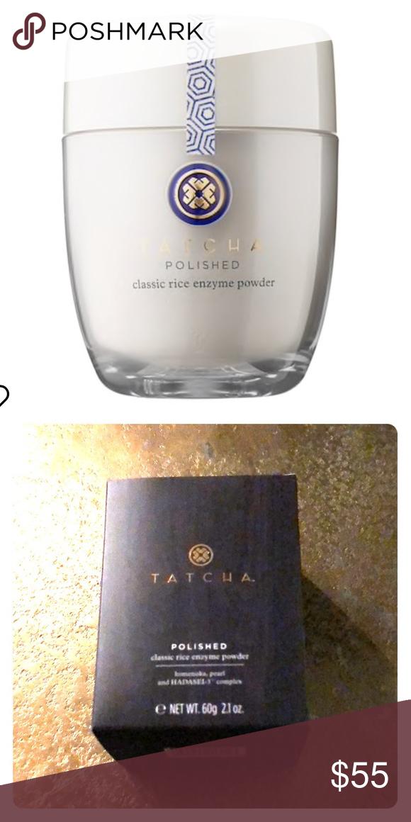 Tatcha Polished Classic Rice Enzyme Powder NWT Sephora