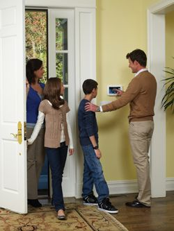 Home security system from Powered Protection Inc Home Security